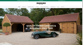 Passmores - Manufacturers of fine timber buildings