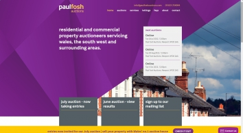 Paul Fosh Auctions, Newport