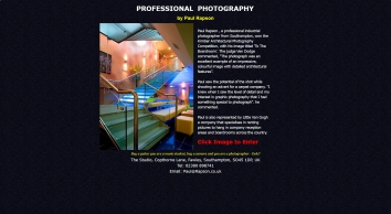 Industrial and Architectural and Commercial photographer Paul Rapson