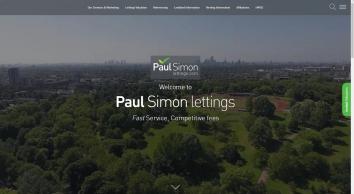 Paul Simon - Lettings Letting Agents in London - Lettings