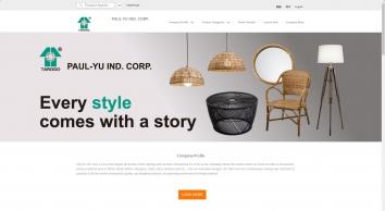 PAUL-YU IND. CORP. - Metal Lamp, Magic Lamp, Tatami Lamp, Japanese Lamp, Rattan Lamp