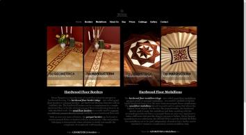 Hardwood Floor Border Inlays