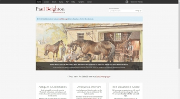 Paul Beighton Auctioneers: Auctioneers and Valuers of Antiques based in Rotherham, UK