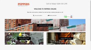 Peppers Garden Centre Builders Merchants and Fireplace Showroom