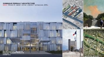 Dominique Perrault Architecture - L\'hippodrome Paris Longchamp a accueilli sa première course