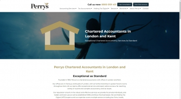 Perrys Chartered Accountants in London and Kent - London Accountants
