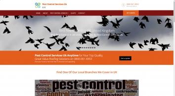 Home - Pest Control Services Uk Call 0800 061 4953