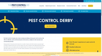 Pest Control In Derby | The Pest Control Co