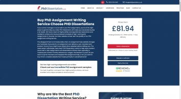 PhD Assignment Writing Services UK | Assignment Expert Help