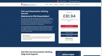Law Dissertation Writing Service UK| Law Dissertation Writing Help