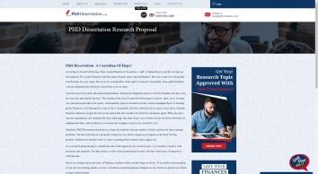 Dissertation Research Proposal Writing Service UK | Research Proposal UK