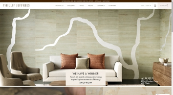 Phillip Jeffries | The World\'s Leader In Natural, Textured & Specialty Wallcoverings