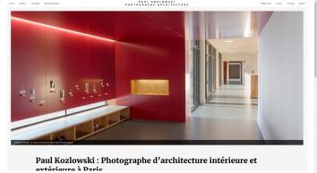 Kozlowski Paul/ photoarchitecture