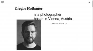 Gregor Hofbauer Photography