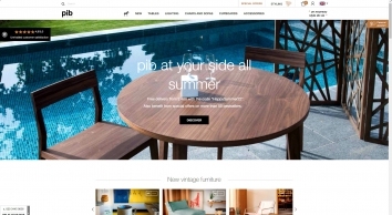 Vintage, industrial and shabby chic furniture | pib