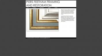 Piers Feetham Framing  Restoration