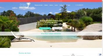 Piscinas de Areia - Um novo conceito na  construção de piscinas.