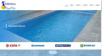 Construccion de piscinas en Tarragona | Piscines Esplai S.L. | Cubiertas para piscinas | Mantenimiento de piscinas en Tarragona
