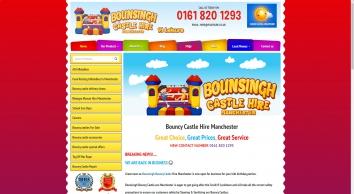 PJ Leisure bouncy castle hire manchester