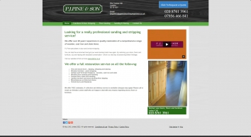 Paint Stripping - Central Hill, London | PJ Pine & Son