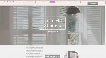 Plantation Shutters Lichfield