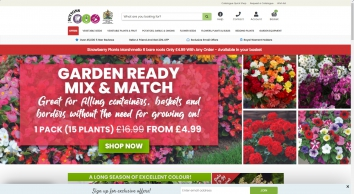 Plantify Customer Announcement - Suttons Seeds and Plants