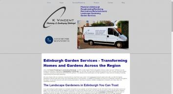 K Vincent Plastering & Landscaping Edinburgh