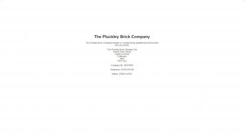pluckley brick company