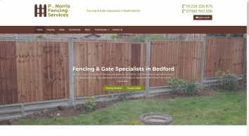 P. Norris Services, Fencing and Gates Specialists In Bedford