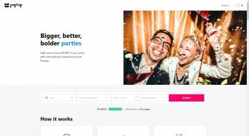 Poptop UK Event Booking: wedding entertainment, corporate entertainment