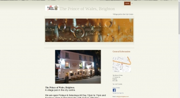 Home | The Prince of Wales, Brighton