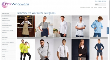 Workwear Clothing, Embroidered Workwear, Safety Clothing & PPE