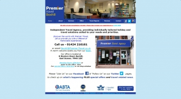 Premier Travel Bexhill - Home Page