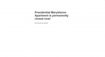Presidential Serviced Apartments Marylebone Mayfair London