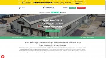 Prestige · Marble & Granite Worktops