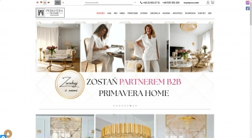 Primavera-home.com Meble i Oświetlenie w stylu Glamour i Nowojorskim