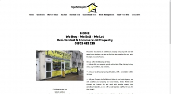 Properties Required, Leigh-On-Sea