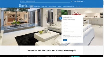 Property Consultant BG: Buy and Sell property in Bansko with us