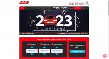 Car and Van Hire St Helens, Merseyside - PSD Vehicle Rental