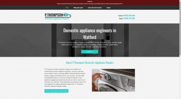 P Thompson Domestic Appliance Repairs