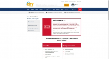 PTS | Plumbing Trade Supplies the trade\'s local plumbing and heating supplier