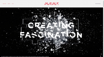 Purple Creative design agency. A creative agency based in Clerkenwell, London