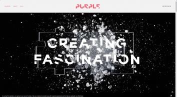 Purple Creative design agency. A creative agency based in Clerkenwell, London