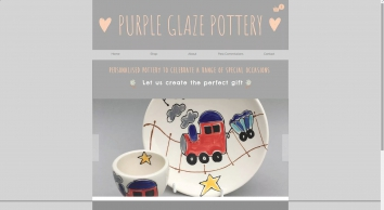 Purple Glaze Pottery