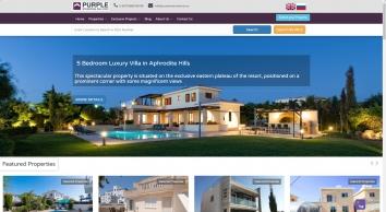 Purple International Real Estate , Cyprus, Larnaca