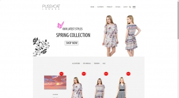 Pussycat London | Womens clothing online, cheap dresses, free delivery