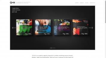 Q+H London Design Agency - Branding and Digital Creative Agency