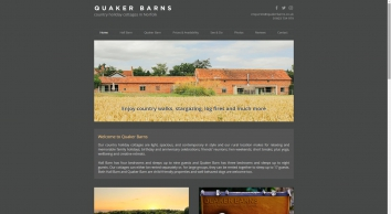 Quaker Barns holiday cottages | Norwich, Norfolk