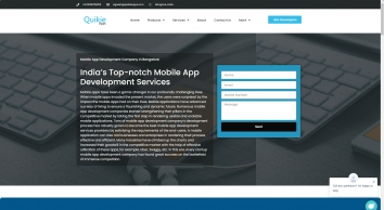 Mobile Application Development Company in Bangalore, India | Best Services