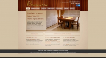 Quality French polishing service in Sheffield - R Mortimer & Son